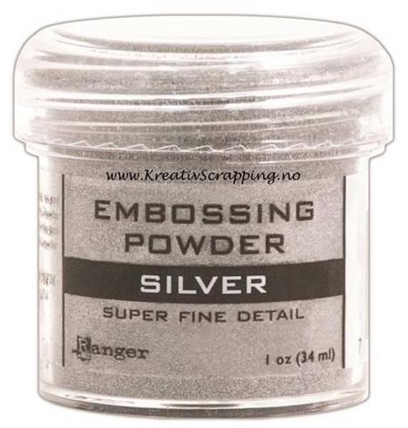 Ranger - Embossing powder - Super Fine Detail - Silver