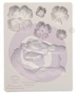 Bilde av Finnabair - 966607 - Silicone Moulds - 3,5x4,5 - Flower Queen