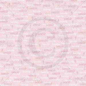 Bilde av Papirdesign PD1900093 - Lille gull - Dåpsark jente