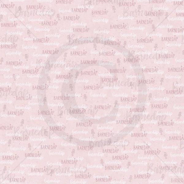 Papirdesign PD1900093 - Lille gull - Dåpsark jente