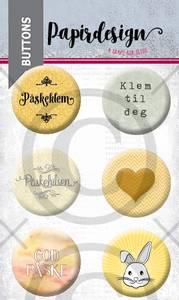 Bilde av Papirdesign - Buttons - 2000461 - Påske