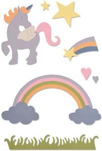Bilde av Sizzix - Thinlits - 662096 - Magical Unicorn