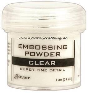 Bilde av Ranger - Embossing powder - Super Fine Detail - Clear