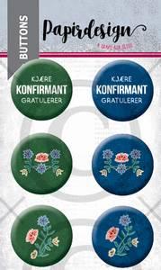 Bilde av Papirdesign - Buttons - 2000468 - Nordlandsbunad