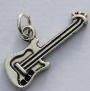 Bilde av Charms - El-gitar - Sølv - 7 stk