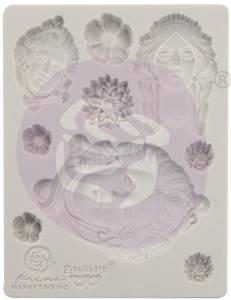 Bilde av Finnabair - 966584 - Silicone Moulds - 3,5x4,5 - Art Nouveau