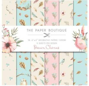 Bilde av The Paper Boutique - 6x6 Paper Pad - PB1067 - Dawn Chorus