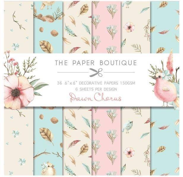 The Paper Boutique - 6x6 Paper Pad - PB1067 - Dawn Chorus