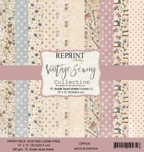 Bilde av Reprint - 12x12 - CRP030 - Vintage Sewing Collection pack