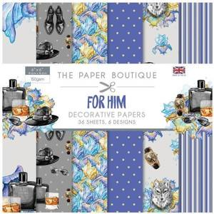 Bilde av The Paper Boutique - 6x6 Paper Pad - PB1092 - For Him