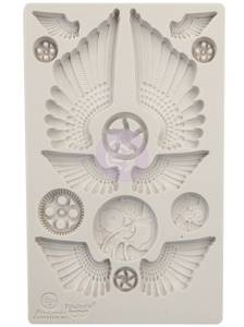 Bilde av Finnabair - 966614 - Silicone Moulds - 5x8 - Cogs and Wings