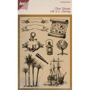 Bilde av Joy Crafts - Clear stamps - 6410-0394 - Life is a journey