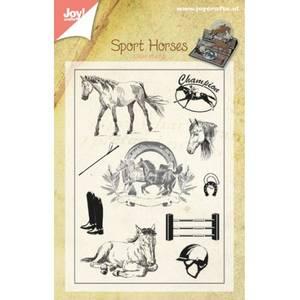 Bilde av Joy Crafts - Clear stamps - 6410-0384 - Horses
