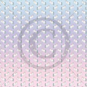 Bilde av Papirdesign PD1900035 - Drømmeland - Enhjørning