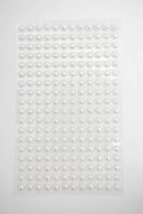 Bilde av Kort & Godt - Stickers - ST-101 - Perle - 6mm - hvit