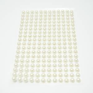 Bilde av Kort & Godt - Stickers - ST-102 - Perle - 6mm - krem