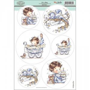 Bilde av Hobby House - Wee Stamps - Topper Sheet - Its a Boy (brettskade)