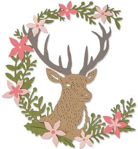 Bilde av Sizzix - Thinlits - 662634 - Deer