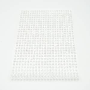Bilde av Kort & Godt - Stickers - ST-107 - Perle - 3mm - Hvit (kremfarget