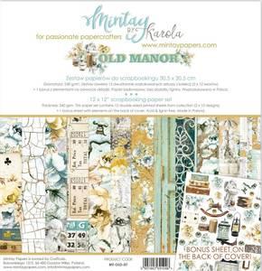 Bilde av Mintay - OLD - 6x6 Paper Pad - Old Manor