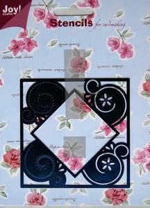 Bilde av Joy Crafts - 6001-0058 - Embossing stencil - X-mas