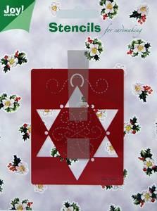 Bilde av Joy Crafts - 6001-0077 - Embossing stencil - X-mas