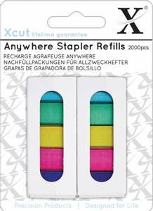 Bilde av Xcut - XCU 268003 - Anywhere Stapler Refills - 2000pcs