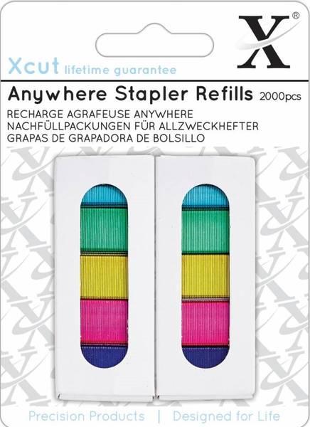 Xcut - XCU 268003 - Anywhere Stapler Refills - 2000pcs