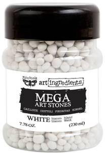 Bilde av Finnabair - Art Ingredients - 964672 - Mega Art Stones - White