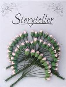 Bilde av Storyteller - Roseknopp - Lys rosa - 4mm - 1685