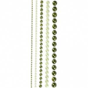 Bilde av Vivi Gade Design - Halvperler, str. 2-8 mm - grønn