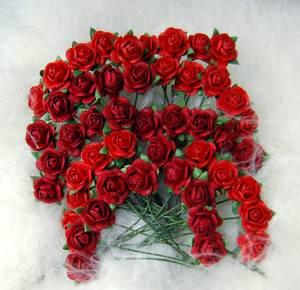 Bilde av Papirdesign - Roser - 1,2cm - Rød