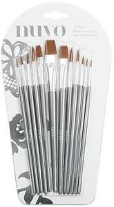 Bilde av Tonic Studios - 972N - Nuvo - Paint Brush set - 12 pk