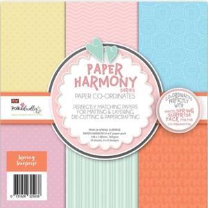 Bilde av Polkadoodles - 6x6 Paper Pack - Spring Harmony