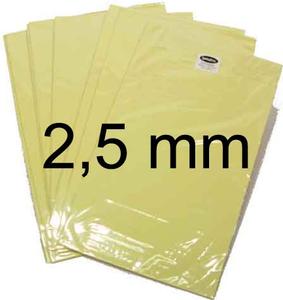 Bilde av Dobbeltklebende Skumplate - 2.5mm - A4 - 1 stk