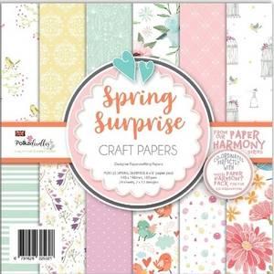 Bilde av Polkadoodles - 6x6 Paper Pack - Spring Surprise