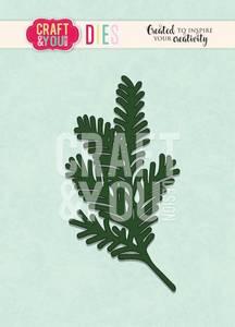 Bilde av Craft & You - Dies - CW091 - Conifer Twig 4