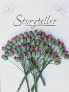 Bilde av Storyteller - Roseknopp - Burgunder - 4mm - 1715