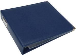 Bilde av We R - 660913 - Leather D-Ring Album - 12x12 - Cobalt