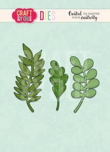 Bilde av Craft & You - Dies - CW099 - Dried Leaves