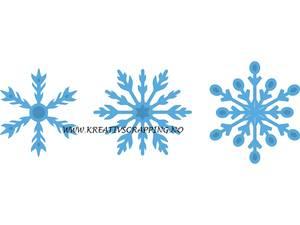 Bilde av Marianne Design - Creatables - LR0393 - ICE CRYSTALS