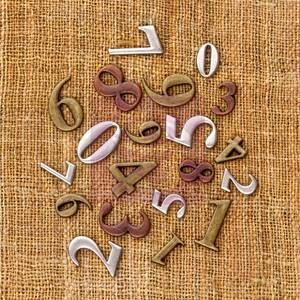 Bilde av Prima - 960254 - Vintage Trinkets - Mini Numbers