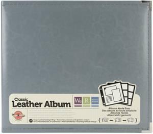 Bilde av We R - 660905 - Leather D-Ring Album - 12x12 - Charcoal