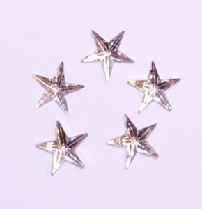 Bilde av Kort & Godt - Diamantstjerner - 6mm - klar 3244