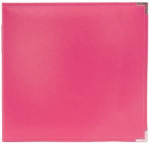 Bilde av We R - 660902 - Leather D-Ring Album - 12x12 - Strawberry