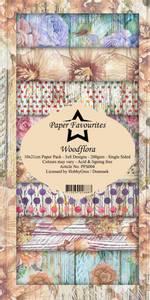 Bilde av Paper Favourites - SlimLine Paper Pad - PFS004 - Woodflora