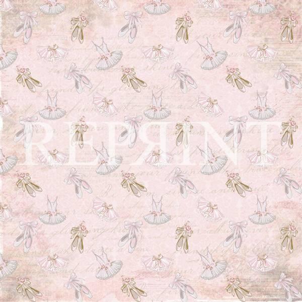 Reprint - 12x12 - RP0374 - Little Girls - Ballerina