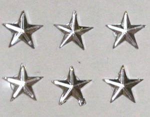 Bilde av Kort & Godt - Stickers - Diamantstjerner - 10mm - klar 0251