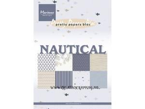 Bilde av Marianne Design Paper - 9133 - A5 - Nautical