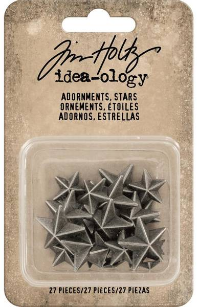 Tim Holtz - Idea-ology - TH93562 - Adornments Stars (27pcs)